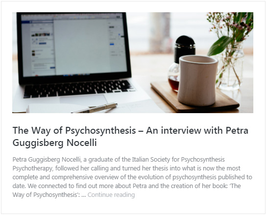 The Way of Psychosynthesis